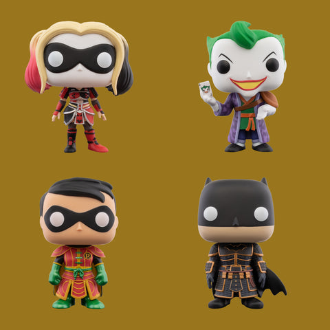 DC IMPERIAL PALACE x FUNKO POP! - ALLE FIGUREN IM SET!