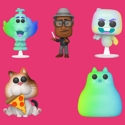 PIXAR'S SOUL x FUNKO POP! - 5 FIGUREN IM SET!