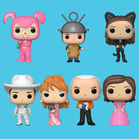 FRIENDS x FUNKO POP! - ALLE 7 FIGUREN IM SET