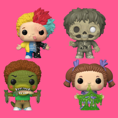 FUNKO POP! x GPK (GARBAGE PAIL KIDS) - SET (ALLE 4 FIGUREN)