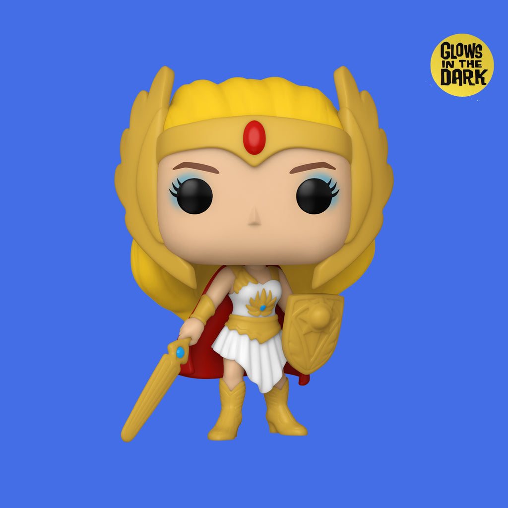 FUNKO POP! x MASTERS OF THE UNIVERSE - SHE-RA (GLOW IN THE DARK)