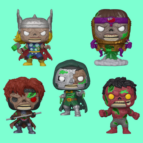 FUNKO POP! x MARVEL ZOMBIES - DIE KOMPLETTE WAVE IM SET!