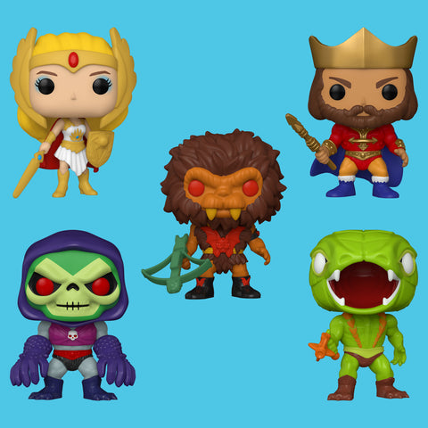 FUNKO POP! x MASTERS OF THE UNIVERSE - ALLE FIGUREN IM SET!