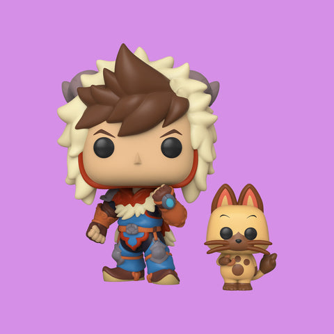 MONSTER HUNTER x FUNKO POP! - LUTE & NAVIROU
