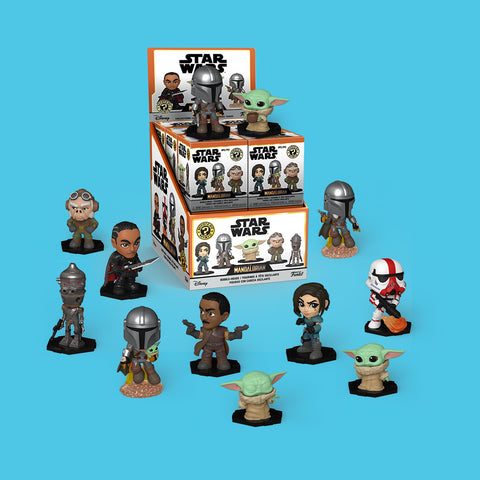 FUNKO MYSTERY MINIS - STAR WARS THE MANDALORIAN (BLINDBOX)