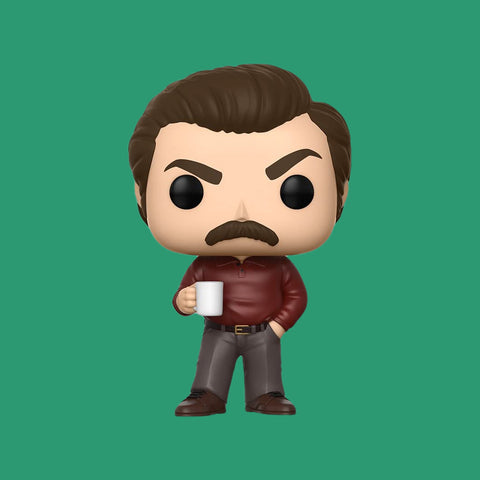 PARKS & RECREATION x FUNKO POP! - RON SWANSON