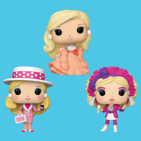 BARBIE x FUNKO POP! - ALLE DREI BARBIES IM SET!