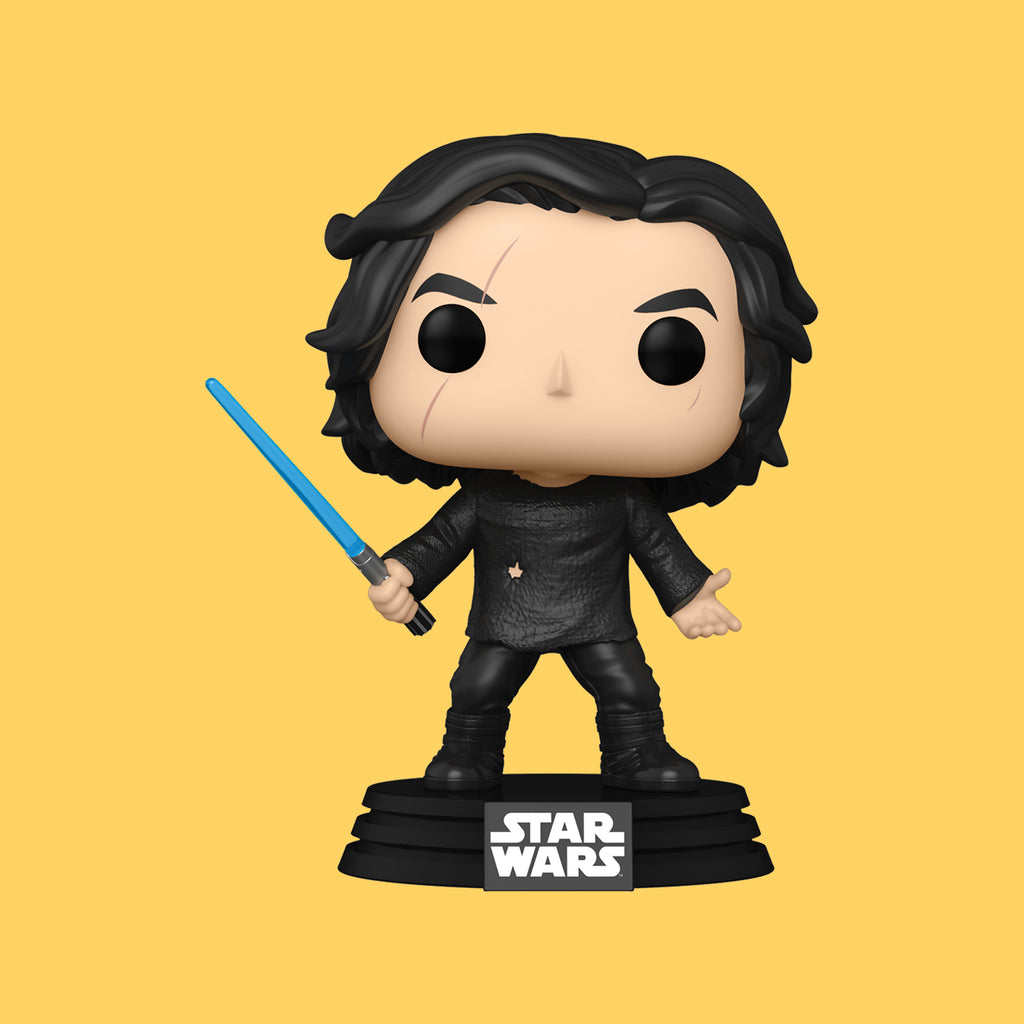 FUNKO POP! x STAR WARS EPISODE 9 - BEN SOLO (BLUE LIGHTSABER)