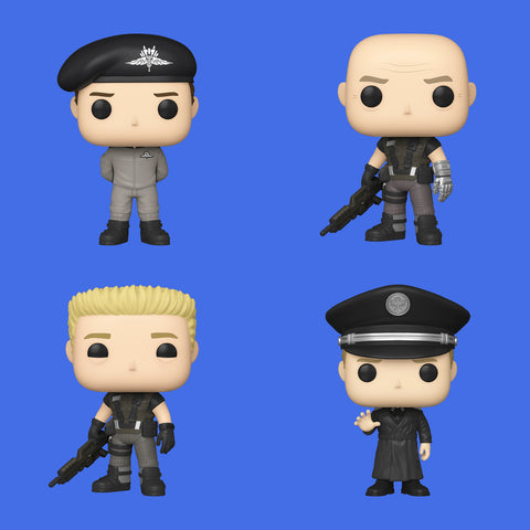 STARSHIP TROOPERS x FUNKO POP! - VIER FIGUREN ALS SET!