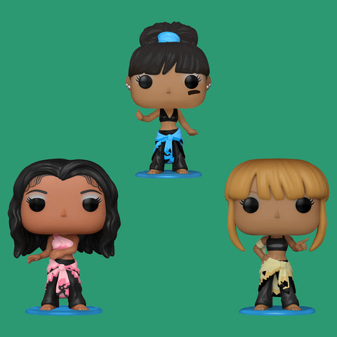 FUNKO POP! x TLC - ALLE DREI FIGUREN IM SET!