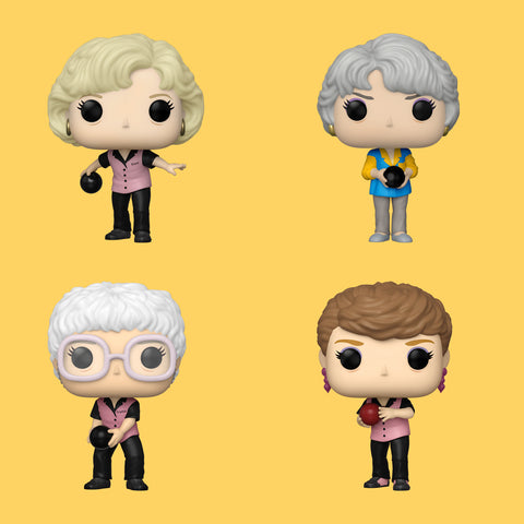 GOLDEN GIRLS x FUNKO POP! - ALLE BOWLING OUTFIT FIGUREN IM SET!