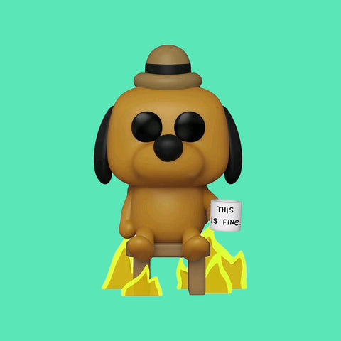FUNKO POP x THIS IS FINE - THIS IS FINE DOG