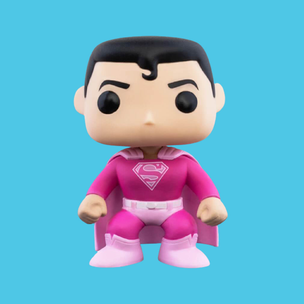 FUNKO POP - BREAST CANCER AWARENESS - DC - SUPERMAN (9CM)