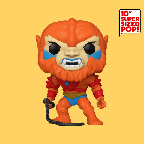 NYCC 2020 FUNKO POP! - MASTERS OF THE UNIVERSE - BEAST MAN (10 INCH, SUPER SIZE!)