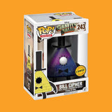 GRAVITY FALLS x FUNKO POP - BILL CIPHER (CHASE EDITION!)