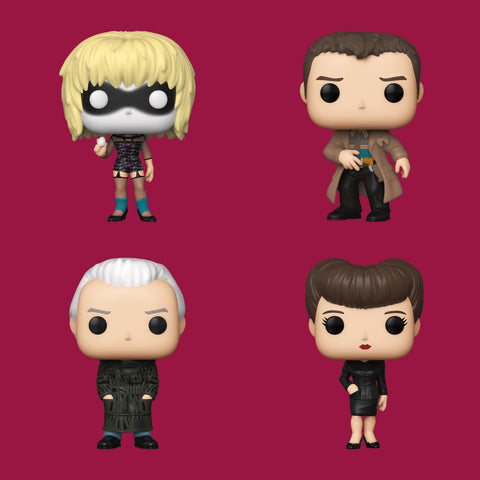 BLADE RUNNER x FUNKO POP - ALLE 4 FIGUREN IM SET