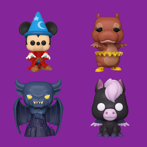 FUNKO POP - DISNEY FANTASIA 80TH - ALLE FIGUREN IM SET!