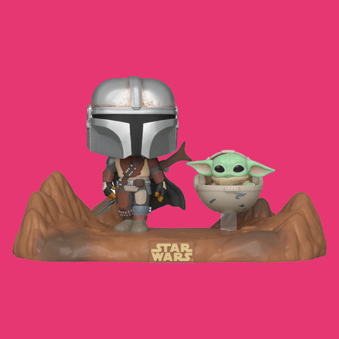FUNKO POP - STAR WARS THE MANDALORIAN - MANDALORIAN & CHILD 2-PACK