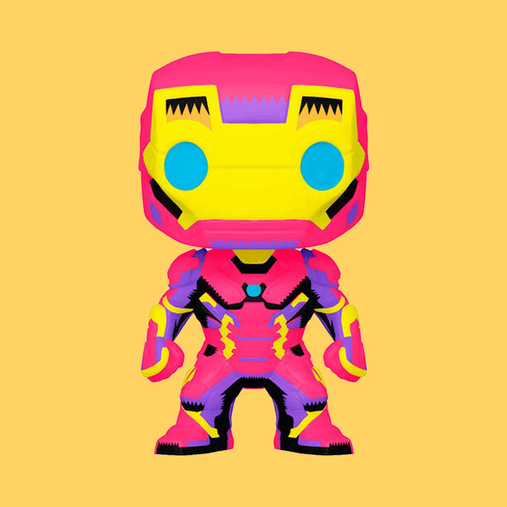 FUNKO POP! MARVEL BLACK LIGHT - IRON MAN