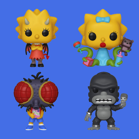 FUNKO POP! SIMPSONS TREEHOUSE OF HORROR - WAVE 1 SET