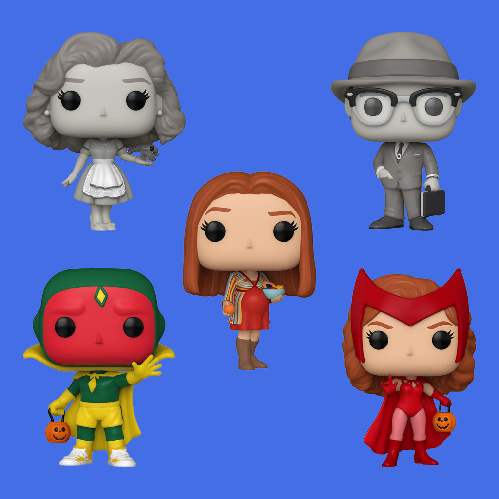 MARVEL'S WANDAVISION x FUNKO POP - ALLE FIGUREN IM SET!