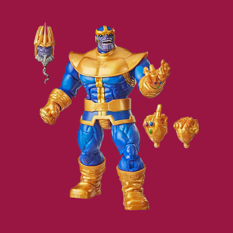 HASBRO x MARVEL LEGENDS DELUXE SERIES - THANOS ACTIONFIGURE