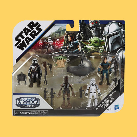 HASBRO x STAR WARS MANDALORIAN - MISSION FLEET DEFEND THE CHILD