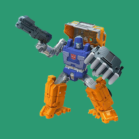 TRANSFORMERS x HASBRO - GENERATIONS WAR FOR CYBERTRON: KINGDOM - HUFFER