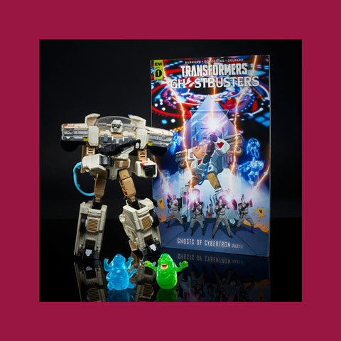 HASBRO - TRANSFORMERS GENERATIONS X GHOSTBUSTERS - LEGACY ECTO 1