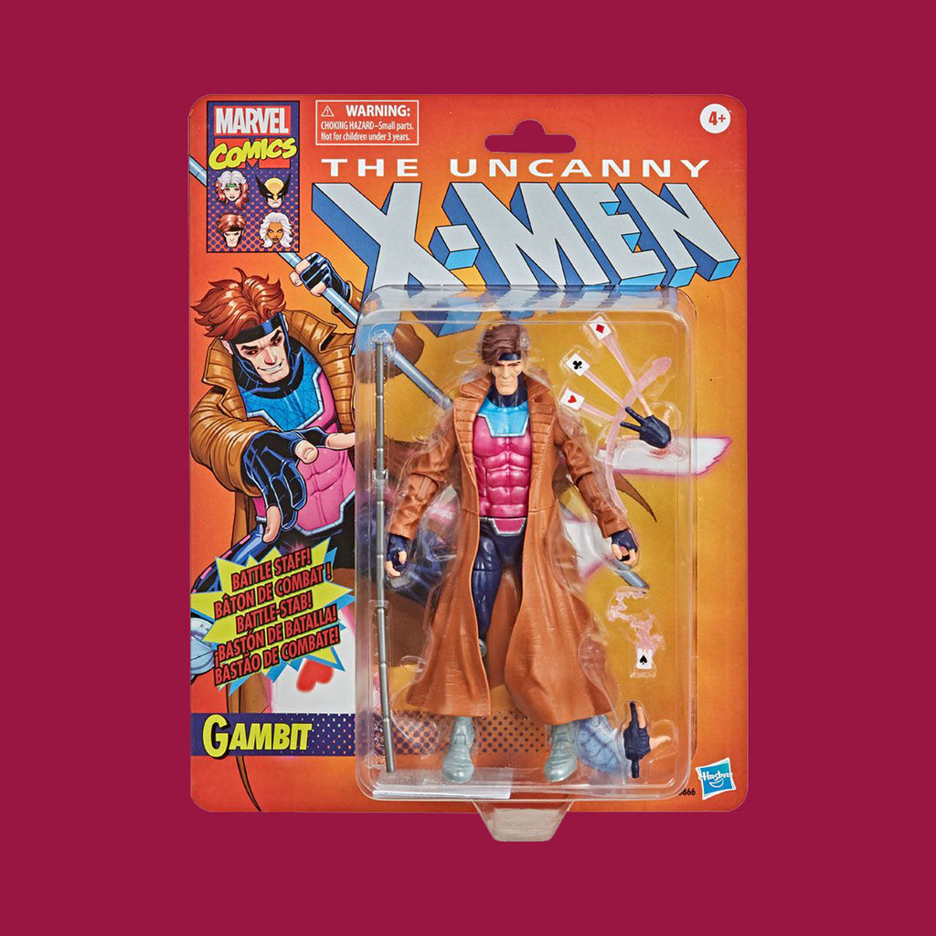 HASBRO MARVEL RETROLINE - THE X-MEN: GAMBIT (15CM)