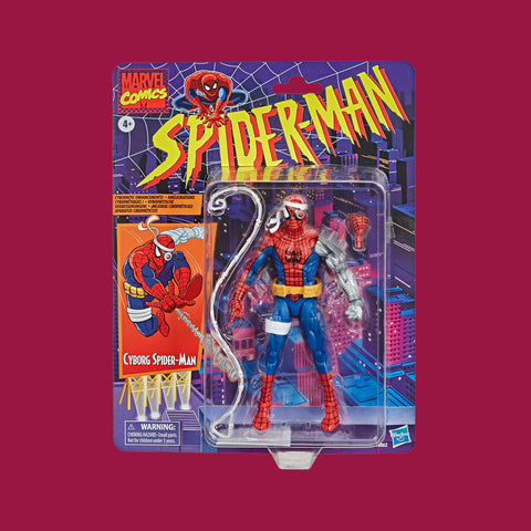 HASBRO MARVEL RETROLINE - SPIDER-MAN: CYBORG SPIDER-MAN (15CM)