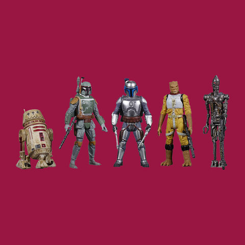 HASBRO - STAR WARS CELEBRATE THE SAGA - BOUNTY HUNTER COLLECTION (5 FIGUREN)