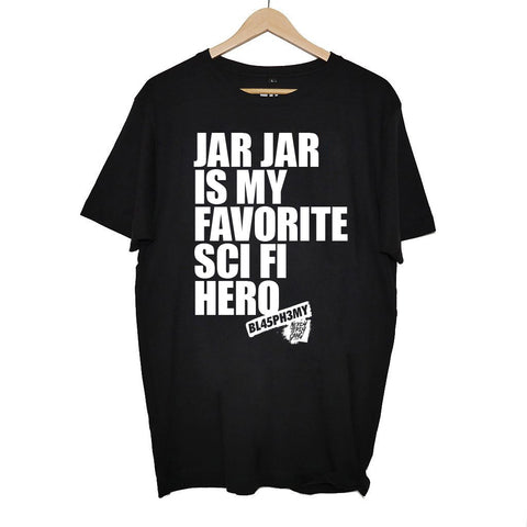 NTG CLASSICS - FAVORITE SCI-FI HERO SHIRT BLACK