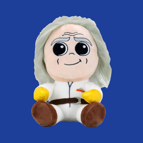 KIDROBOT x BACK TO THE FUTURE - DOC BROWN PHUNNY PLUSH