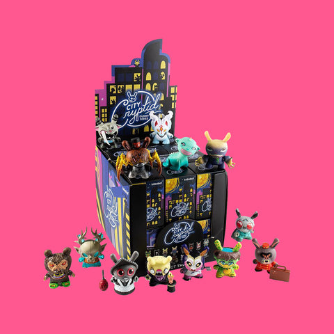 KIDROBOT x CITY CRYPTED DUNNE SERIES (BLINDBOX)