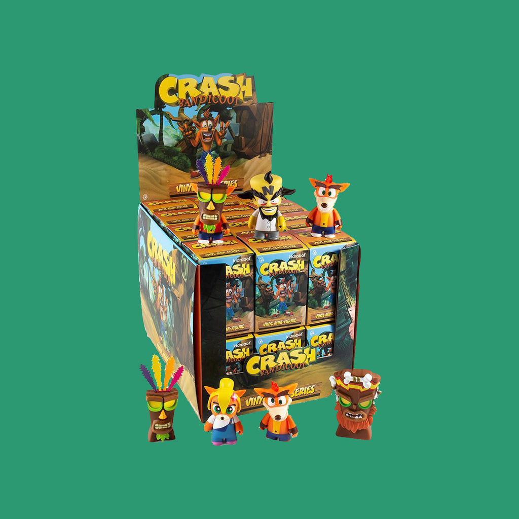 KIDROBOT x CRASH BANDICOOT MINI SERIES (BLINDBOX)
