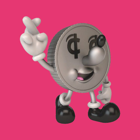 KIDROBOT - LUCKY COIN MONEY BOX FIGURE
