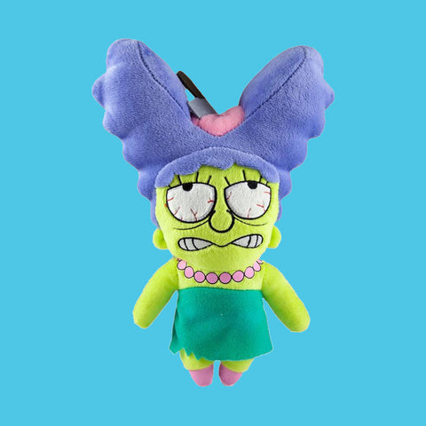 KIDROBOT x THE SIMPSONS - ZOMBIE MARGE PHUNNY PLUSH