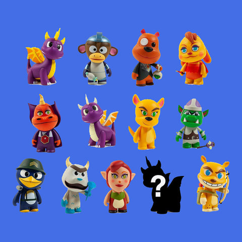 KIDROBOT x SPYRO THE DRAGON - MINI FIGURES (BLINDBOX)