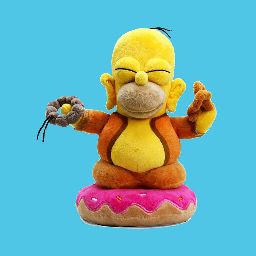 KIDROBOT x THE SIMPSONS - HOMER BUDDAH PLÜSCHTIER 25CM