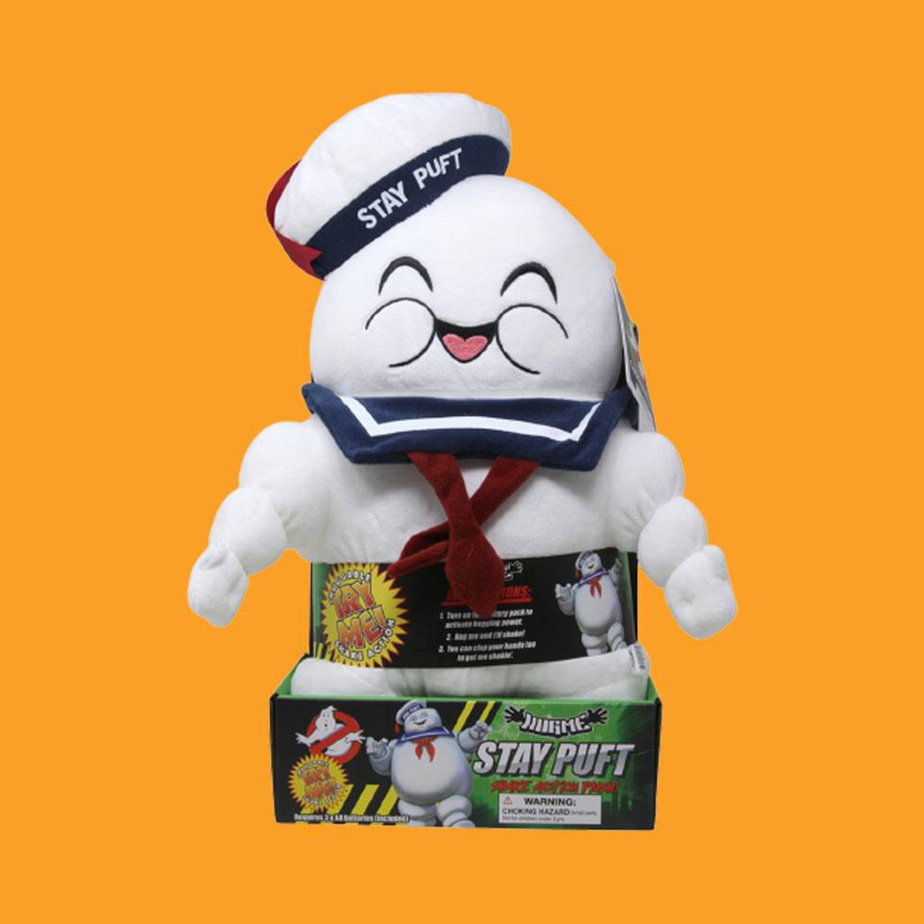 KIDROBOT x GHOSTBUSTERS - STAY PUFT MARSHMELLOW MAN HUGME 41CM