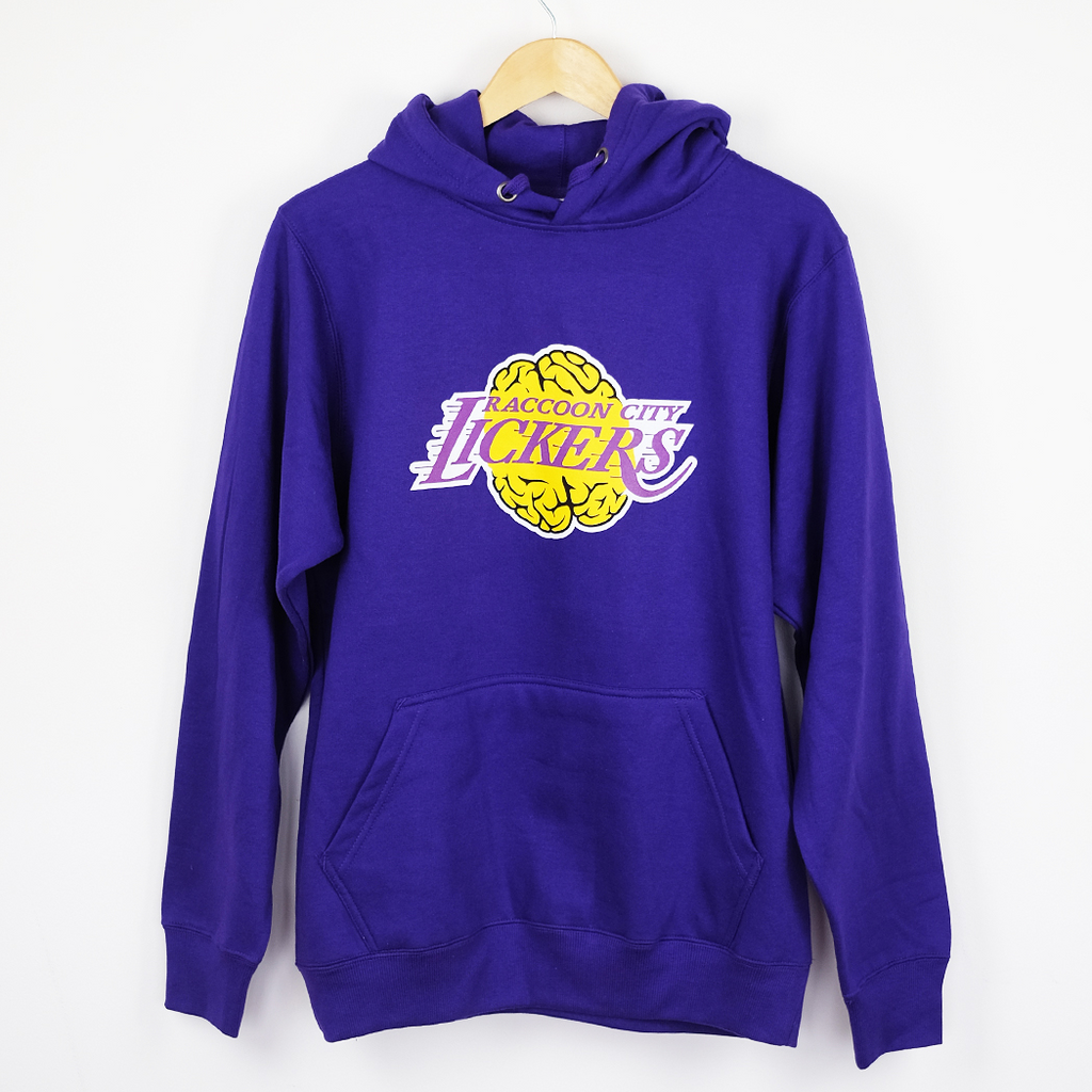 BLOOD SPORTS - RACCOON CITY LICKERS HOODIE PURPLE