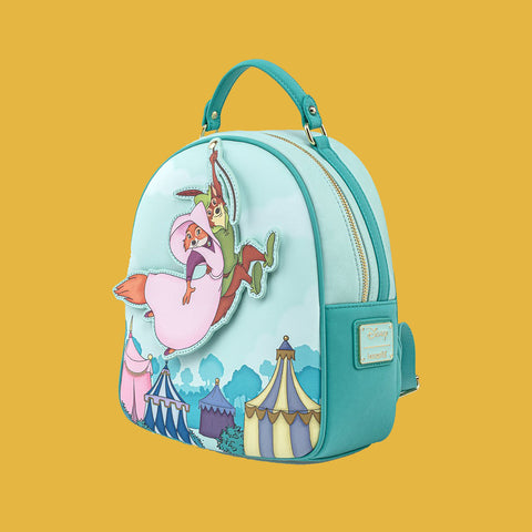LOUNGEFLY x DISNEY - ROBIN HOOD & LADY MARIAN SWINGING MINI BACKPACK
