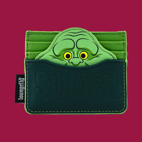 LOUNGEFLY x GHOSTBUSTERS - SLIMER CARDHOLDER