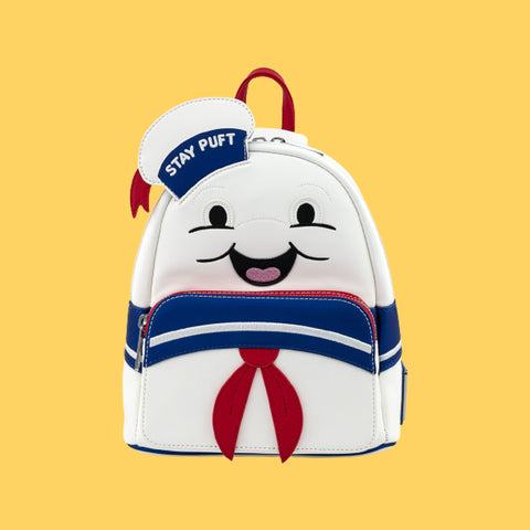 LOUNGEFLY x GHOSTBUSTERS - STAY PUFT MARSHMALLOW MAN MINI BACKPACK