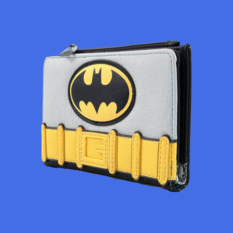 LOUNGEFLY x DC COMICS - VINTAGE BATMAN COSPLAY WALLET