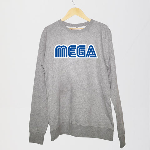 MEGA - CREWNECK GREY