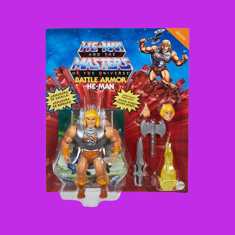 MATTEL x MASTERS OF THE UNIVERSE - DELUXE BATTLE ARMOR HE-MAN (14CM)
