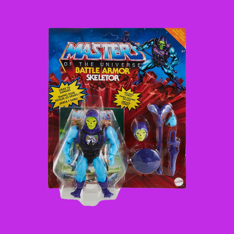 MATTEL x MASTERS OF THE UNIVERSE - DELUXE BATTLE ARMOR SKELETOR (14CM)