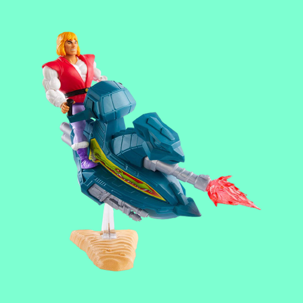 MATTEL x MASTERS OF THE UNIVERSE - ORIGINS SKY SLED WITH PRINCE ADAM
